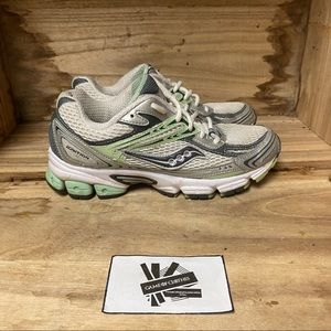 Saucony ignition 2 silver and green